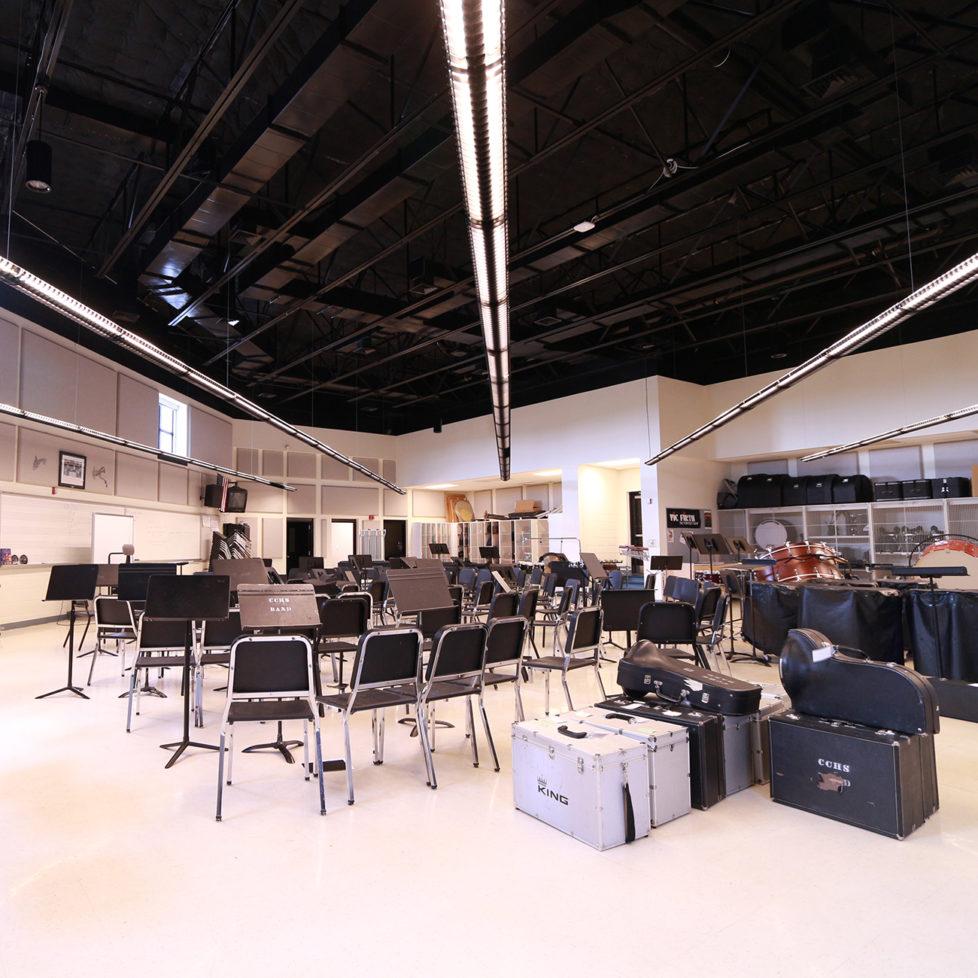 Cedar Crest Band Room