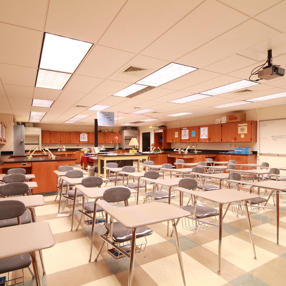 Cedar Crest Science Room