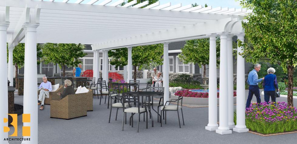 Green-House-Courtyard-Rendering